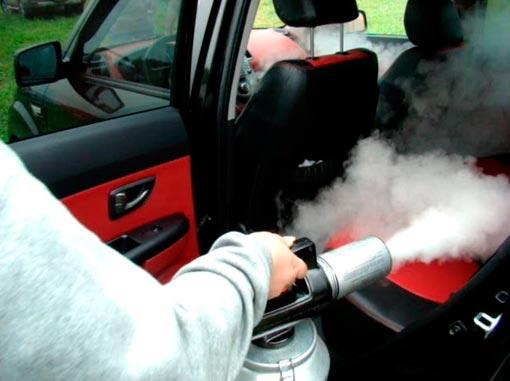 Как сделать запах в автомобиле 745