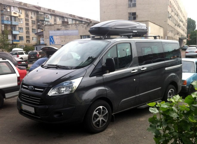 Багажник для Ford Transit Custom прокат страница