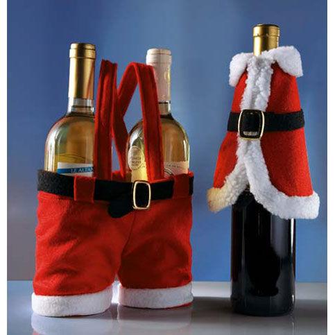 Магический  декор  Украшение  бутылок  на  Новый  год  .  Магический  декор