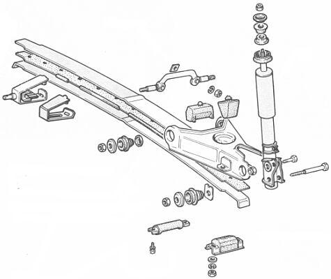 конструкция задней подвески фиат регата