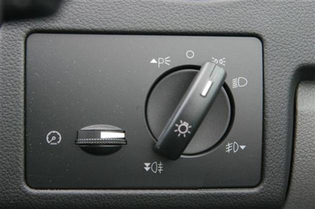 Кнопка управления светом Форд. Первое положение вправо - включение
