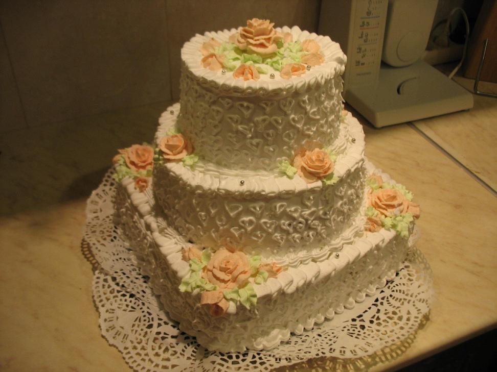 рецепт 2 ярусного торта