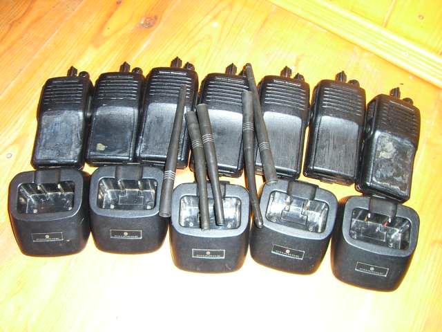 Продам 7 радиостанций Vertex