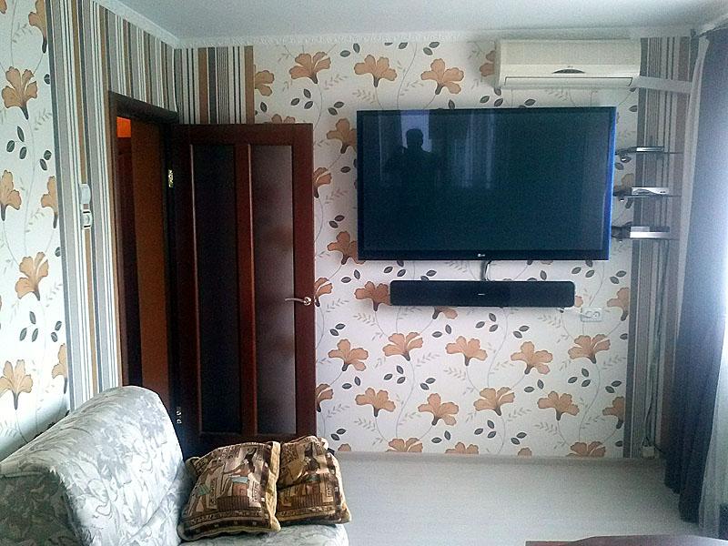 Как задекорировать провода от телевизора на стене своими руками фото