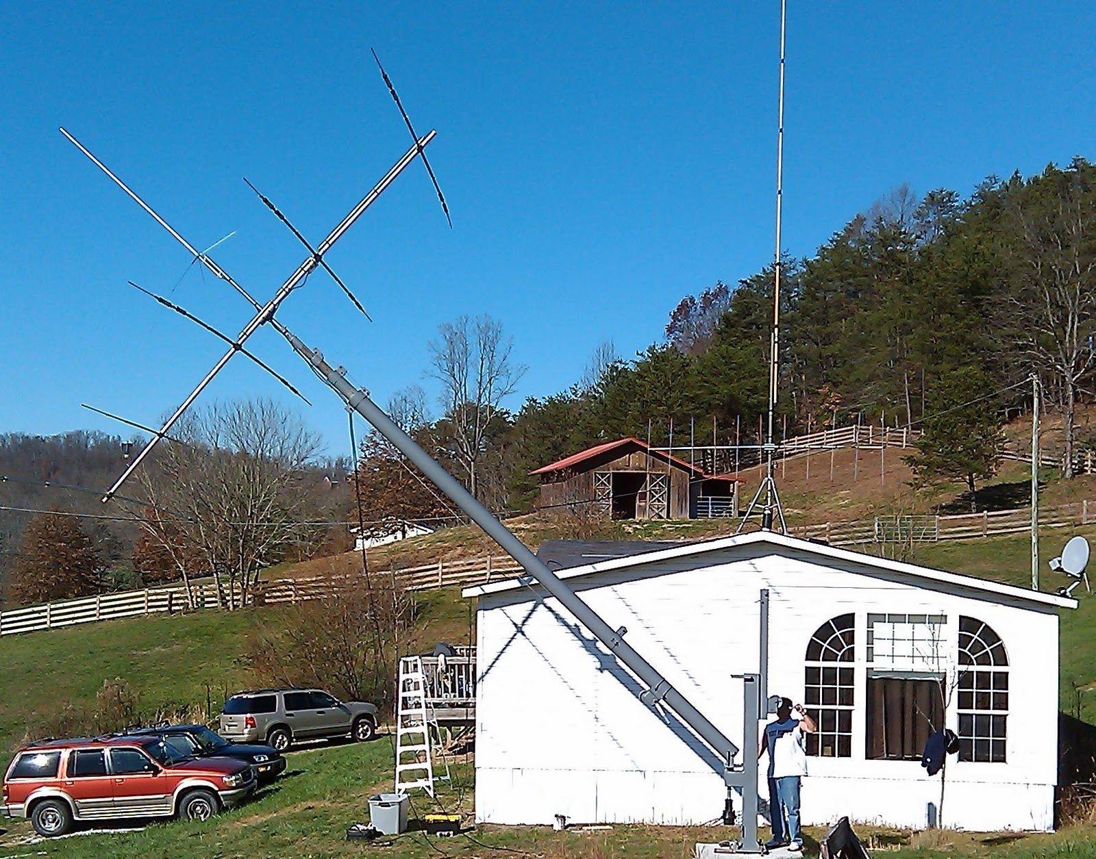 Мачта для антенн телескопическая своими руками