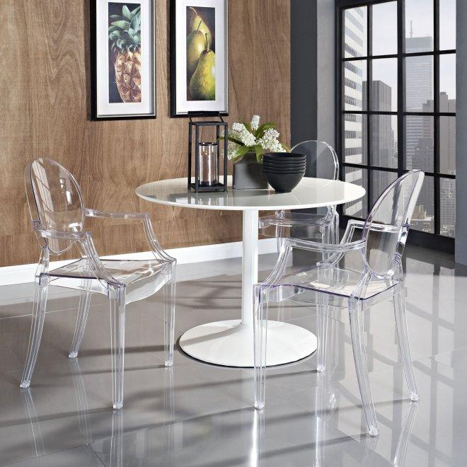 Прозрачный стул с членом 17 фотография